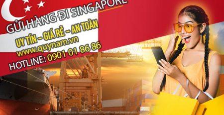 Nhận gửi hàng đi Singapore