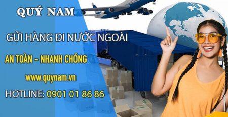 Nhận gửi hàng đi nước ngoài