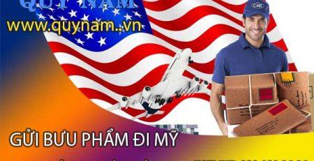 Gửi bưu phẩm đi Mỹ