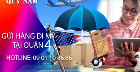 Gửi hàng đi Mỹ tại quận 4